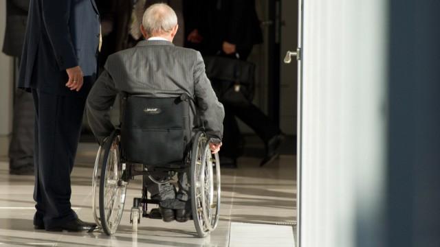 Fraktionssitzung CDU - Schäuble