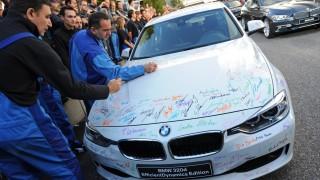 Präsentation neuer 3er-BMW