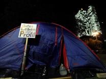 'Occupy Wall Street' in Frankfurt