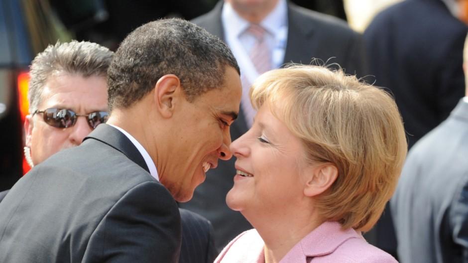 Obama und Merkel vereinbaren enge Abstimmung vor G20-Gipfelg