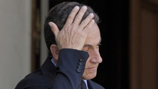 Nicolas Sarkozy popularity down