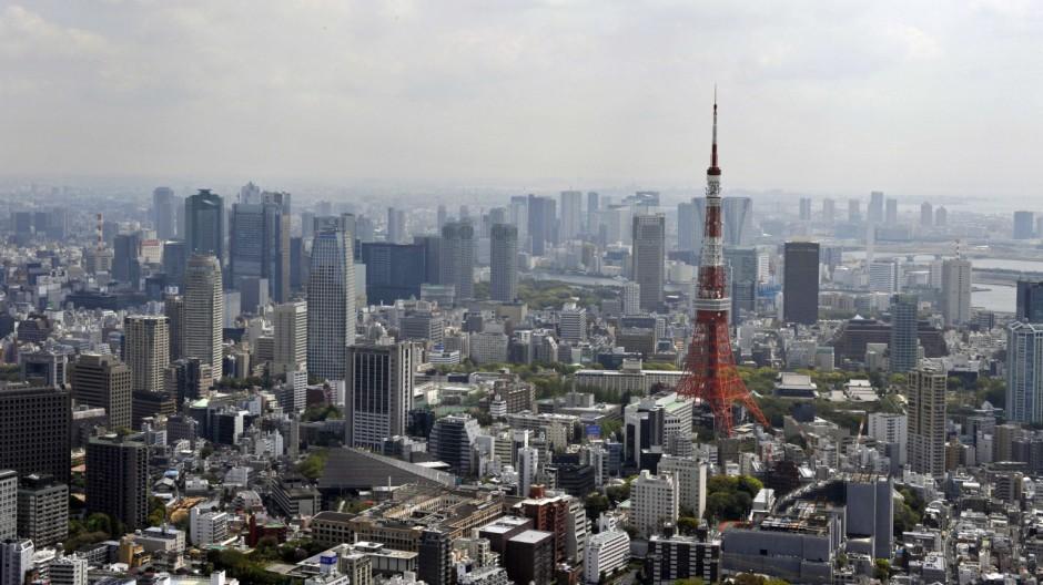 Radioaktivität Erhöhte Strahlung in Tokio
