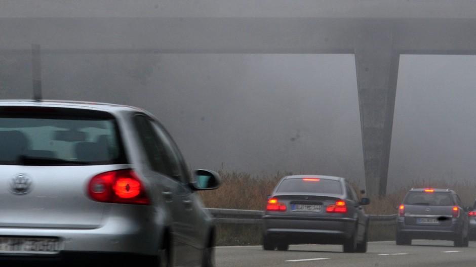 Nebel auf Schwäbischer Alb