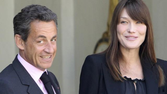 Medien: Carla Bruni-Sarkozy bringt Tochter zur Welt