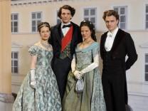 Ludwig II Set Visit