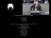 Homepage von CSU-Abgeordnetem Uhl gehackt