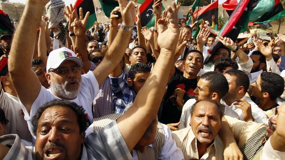 Gaddafi Bilanz des Nato-Einsatzes in Libyen