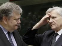 Sitzung der EU-Finanzminister