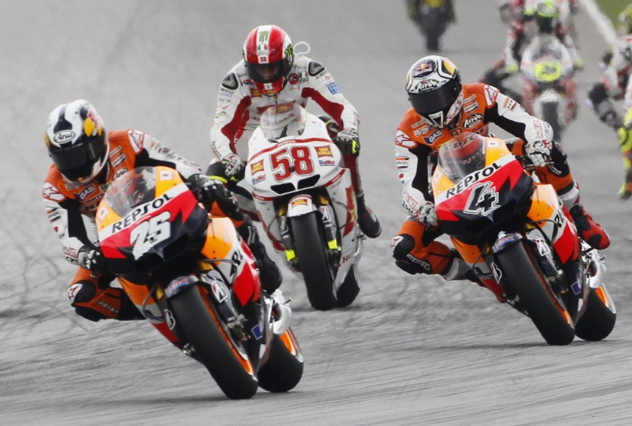 Tod des Motorrad-Weltmeisters Marco Simoncelli - Simoncelli war 2008 ...