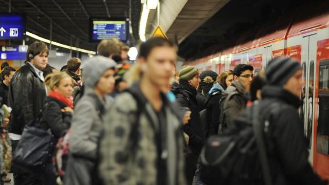 Streik bei der Münchner S-Bahn, 2010