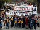 Demo gegen die dritte Startbahn