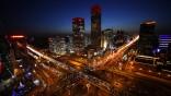 Peking China Nachtleben