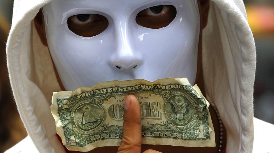 Occupy Wall Street Demonstrant