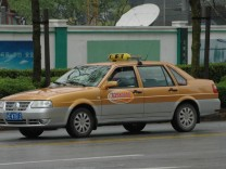 Taxi nach Shanghai