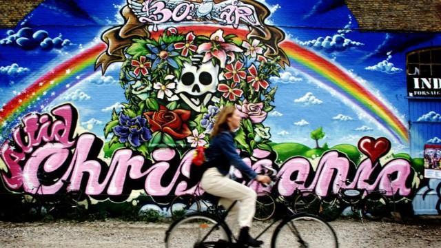 Der 'Freistaat Christiania' in Kopenhagen