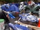 Occupy-Demonstranten trotzen Schnee und Eis (Vorschaubild)
