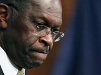 Herman Cain Speaks At National Press Club In Washington
