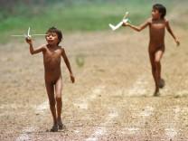 Yanomami Indianer in Brasilien