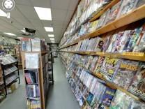 Google Street View Comics Toons N Toys