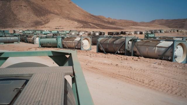 Krieg in Libyen Chemische Waffen in Libyen