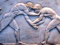 Griechische Ringer