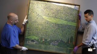 To match Reuters Life! ART-AUCTION/KLIMT/