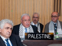 General Conference admits Palestine as UNESCO member state