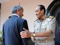 Libya's interim ruler to visit Egypt
