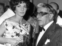 Maria Callas und Aristoteles Onassis, 1960