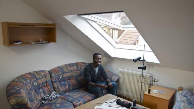 Somalia Somalier findet Zuflucht in Bayern
