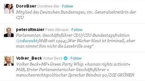 Twitter Altmaier Bär Beck