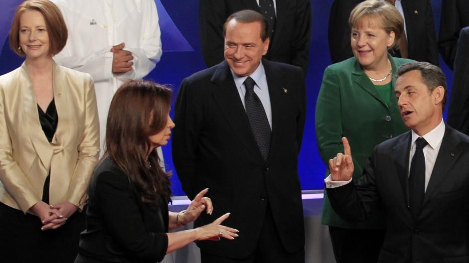 G-20-Gipfel G-20-Gipfel in Cannes