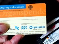 Jeder fuenfte Deutsche hat einen Organspendeausweis
