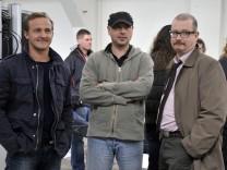 Dreharbeiten zu Tatort 'Heimatfront'