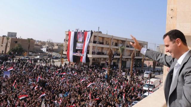 Aufstand in Syrien UN-Bericht