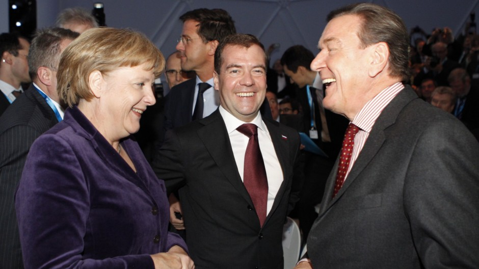 Nord Stream gas pipeline launch