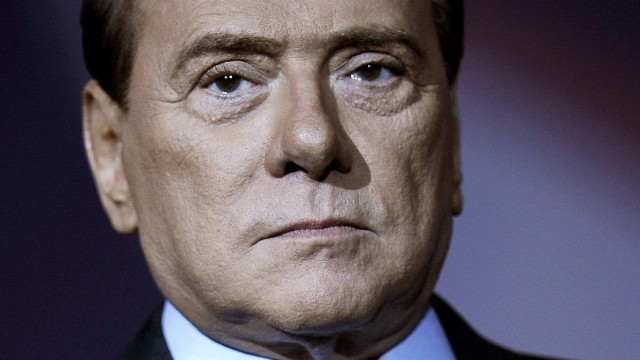 Silvio Berlusconi Italiens Premier Berlusconi am Ende