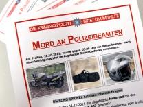 Augsburg Polizistenmord Fahndungsplakat