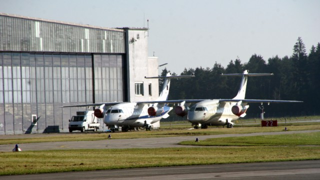 Dornier Do 328 Jet auf dem Sonderflugplatz