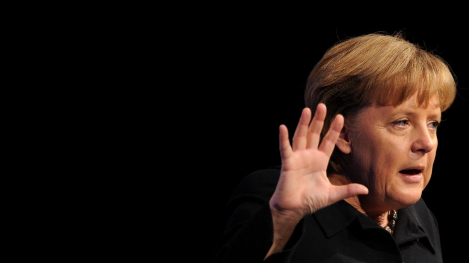 Deutschlandtag Junge Union - Angela Merkel