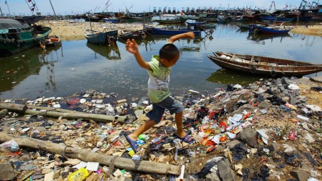 Malaysia Airlines MH370 Verschmutzung der Ozeane