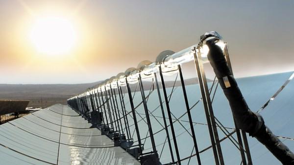 Receiver in solarthermischem Kraftwerk
