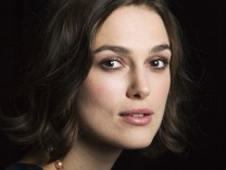 Knightley of the film 'A Dangerous Method' poses for a portrait during Toronto International Film Festival (TIFF) in Toronto