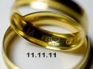 Hochzeit am 11.11.11