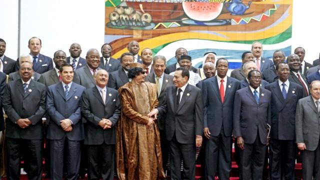 Treffen der Arabischen Liga in Libyen - Gruppenfoto
