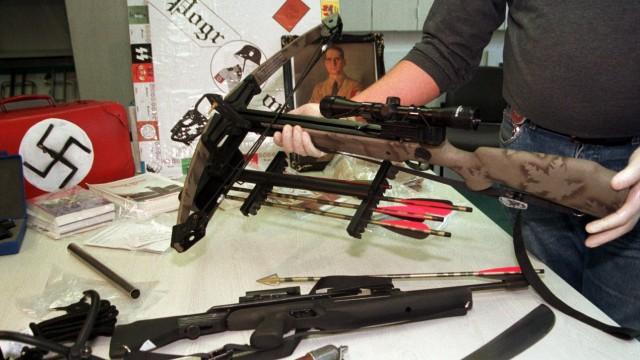 Waffenfund in Erfurt präsentiert