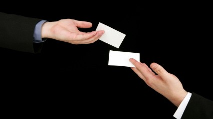 Knigge Im Büro Wie Man Eine Visitenkarte Korrekt
