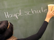 Diskussion um Hauptschule