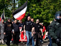 NPD May Day March In Halle