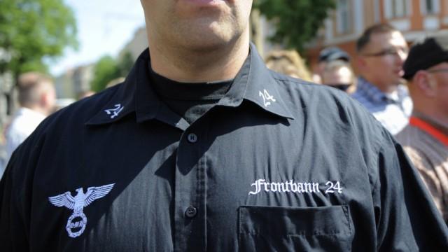 NPD-Kundgebung in Berlin